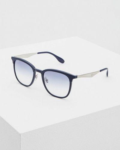 Синие солнцезащитные очки Ray-ban