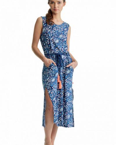Синее платье Key