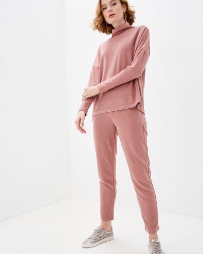 Костюмный розовый вязаный костюм Trendyangel