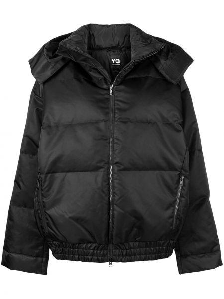 Черная короткая куртка Y-3