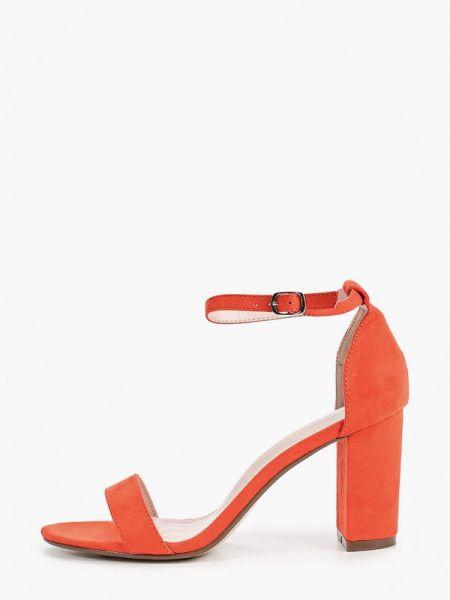 Замшевые туфли оранжевый Ideal Shoes®