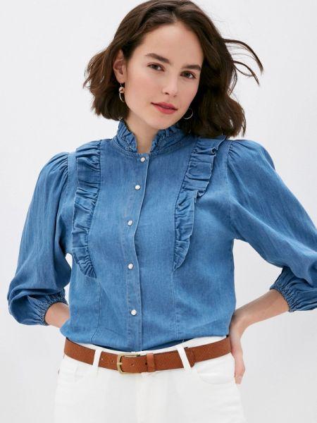 Джинсовая рубашка синяя Miss Miss By Valentina