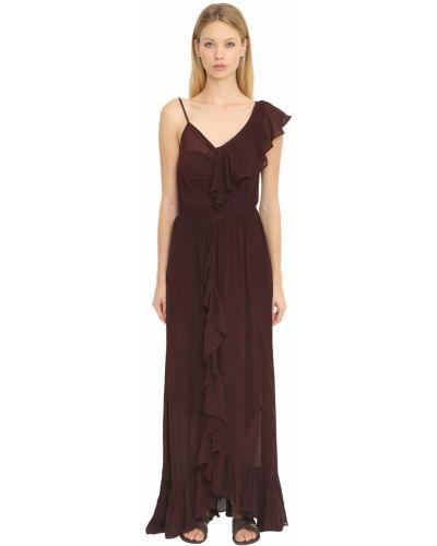 Платье с поясом на бретелях с V-образным вырезом Mes Demoiselles