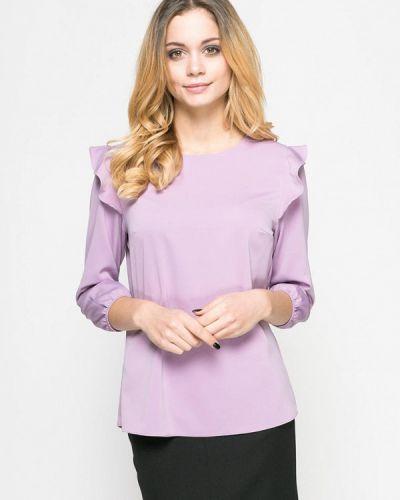 Блузка осенняя фиолетовый Zubrytskaya
