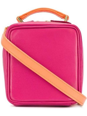 Кожаная сумка - оранжевая Natasha Zinko