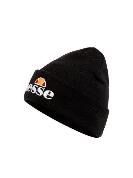 Miękki czarny czapka Ellesse