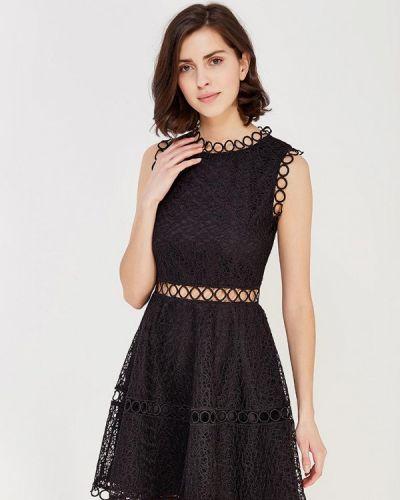 Платье весеннее черное Paccio