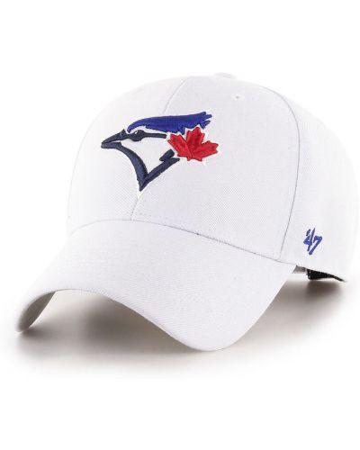 Biały kapelusz wełniany 47brand