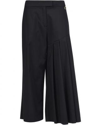 Хлопковые брюки - черные Mangano