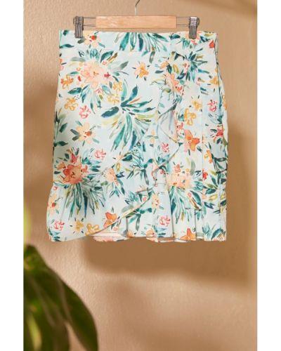 Spódnica mini z falbanami Trendyol