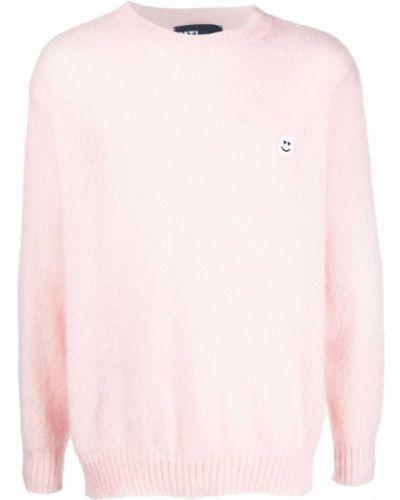 Sweter wełniany - różowy Mtl Studio
