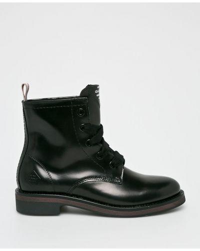 Кожаные сапоги черный Gant