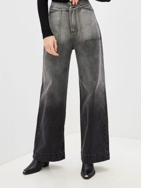 Расклешенные серые расклешенные джинсы Befree
