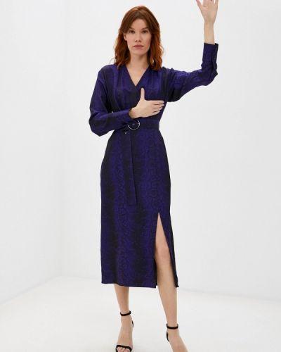 Фиолетовое платье с запахом Charuel