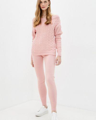 Хлопковый костюмный розовый вязаный костюм Fresh Cotton