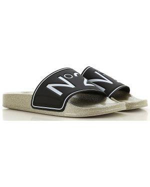 Czarne sandały No. 21