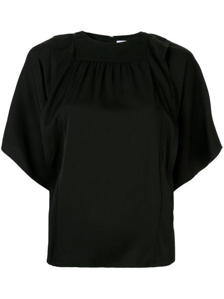Шелковая блузка - черная Ck Calvin Klein