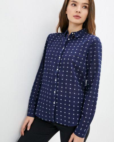 Рубашка с длинным рукавом - синяя Springfield