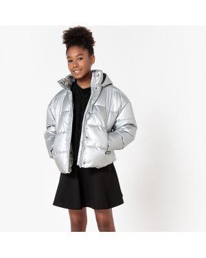 Зимняя куртка короткая оверсайз La Redoute Collections