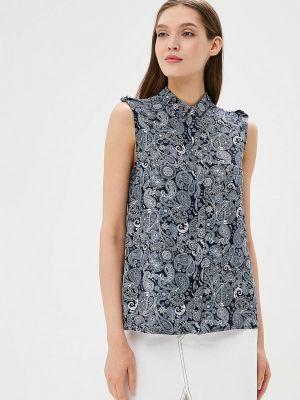 Синяя весенняя блузка Top Secret