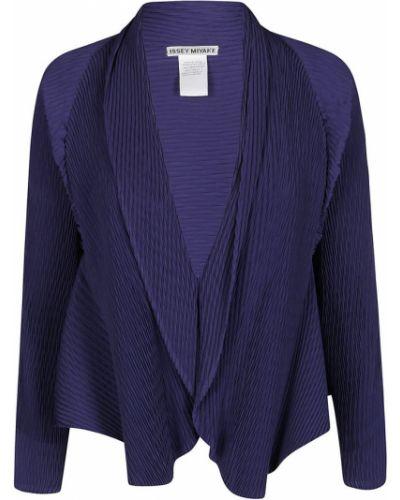 Sweter - niebieski Issey Miyake