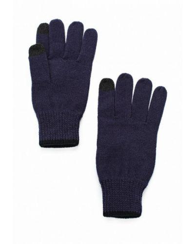 Синие перчатки Topman