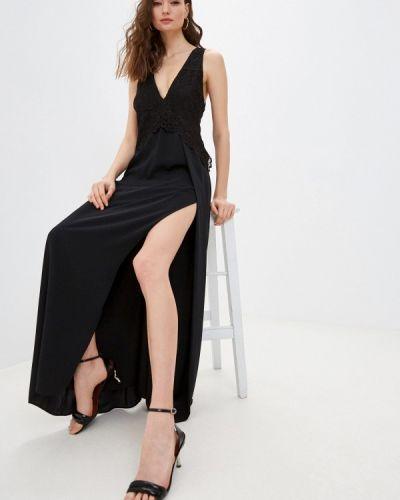 Черное вечернее платье Patrizia Pepe