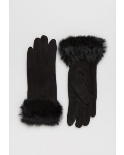 Перчатки черные универсальный Answear