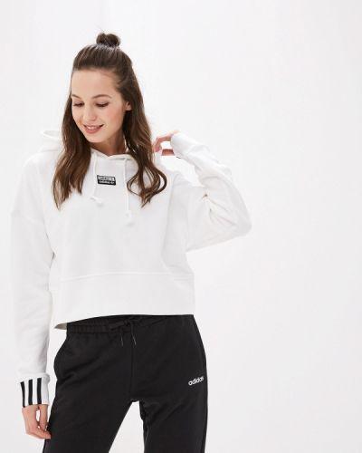 Толстовка белая Adidas Originals