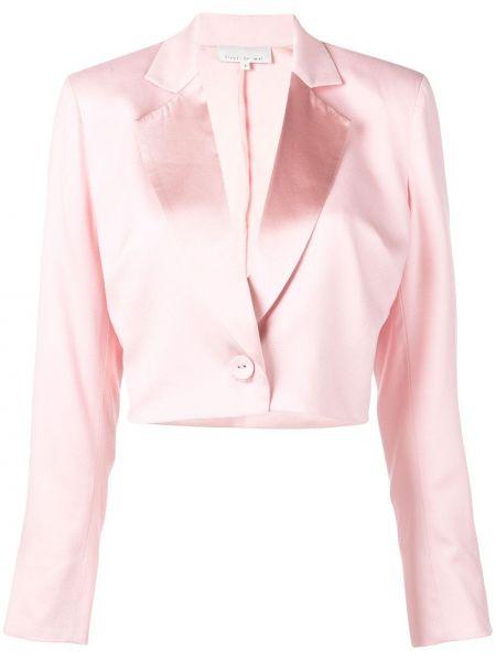 Розовый пиджак Fleur Du Mal