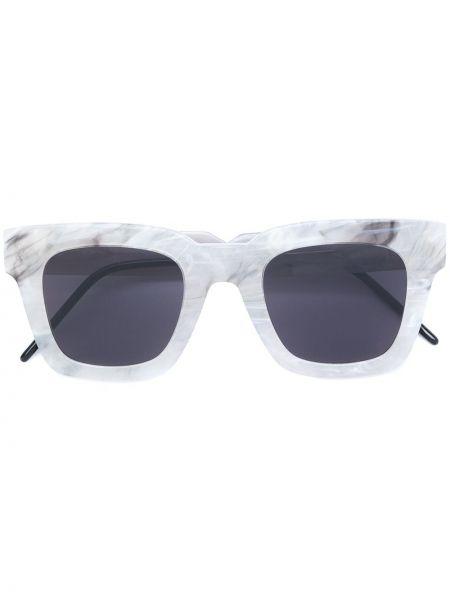 Białe okulary So.ya