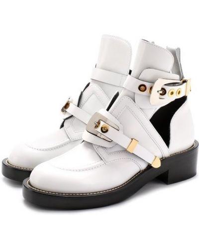 Кожаные ботинки на каблуке Balenciaga