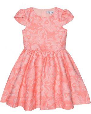 Хлопковое розовое платье Tartine Et Chocolat