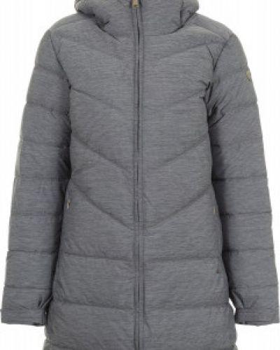Утепленная куртка с капюшоном длинная Luhta