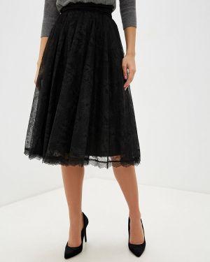 Платье осеннее черное Lusio