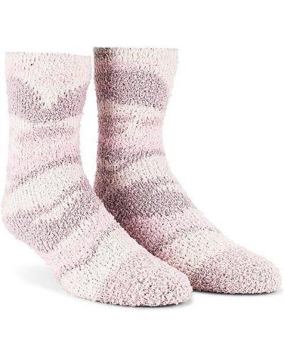 Розовые вязаные носки высокие Splendid
