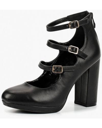 Кожаные туфли с застежкой на лодыжке на каблуке Tulipano