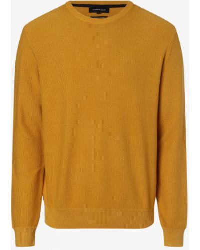 Sweter - żółty Andrew James
