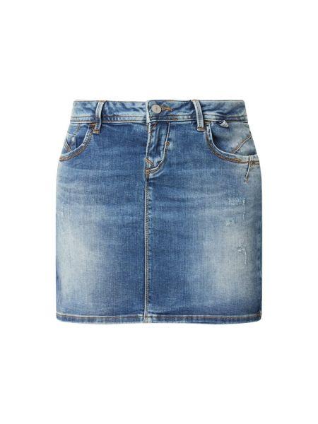 Niebieska spódnica bawełniana Ltb