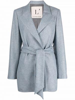 Шерстяной пиджак - синий Lautre Chose