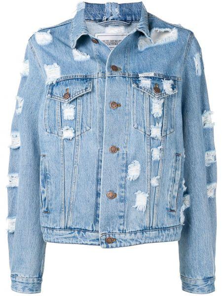 Niebieskie jeansy bawełniane Forte Dei Marmi Couture