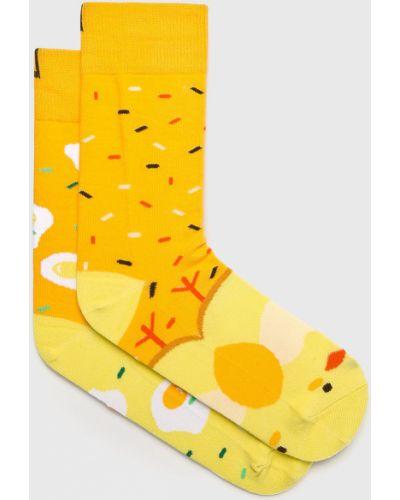 Колготки с узором желтый Nanushki