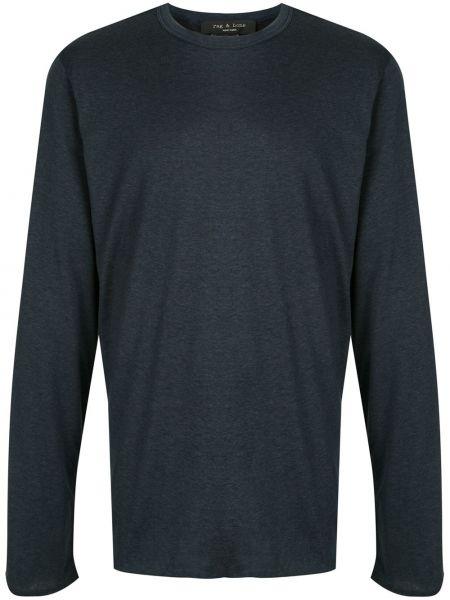 Koszula z długim rękawem długa ciemny Rag & Bone