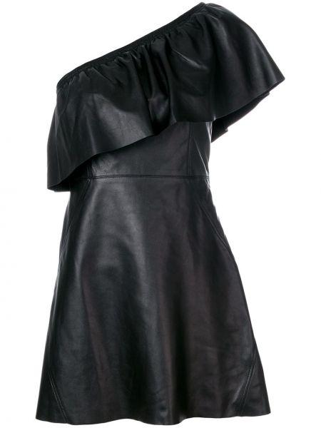 Платье на одно плечо расклешенное Alc