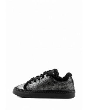 Серебряные кроссовки Leberdes
