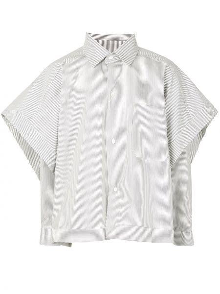 Koszula z długim rękawem klasyczna z paskami Hed Mayner