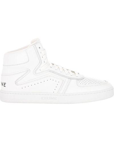 Białe sneakersy Céline