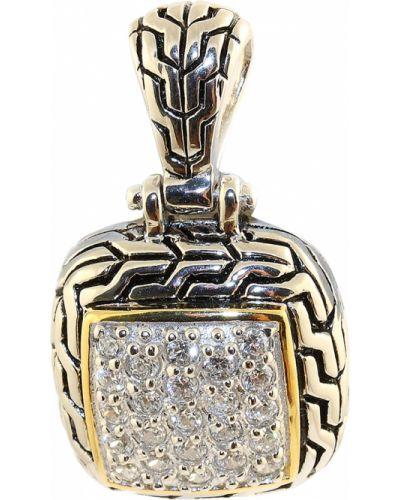Золотая подвеска серебряный золотой Jewelry Box