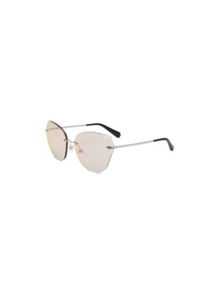 Розовые силиконовые солнцезащитные очки Chanel