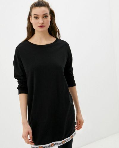 Черное платье Moschino Underwear